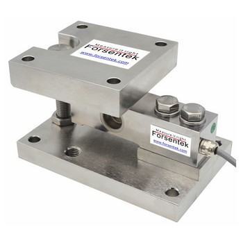 Weighing module for hopper weighing system
