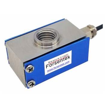Low profile load cell tension compression sensor